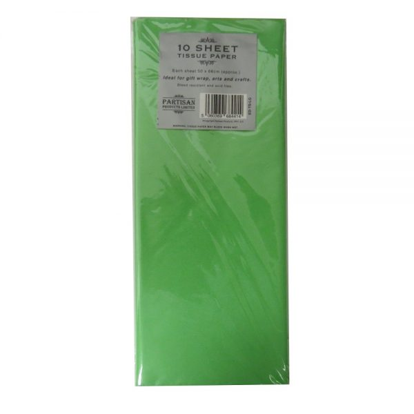 Partisan Tissue Paper Light Green