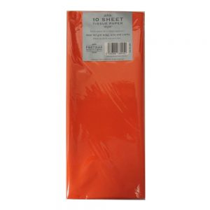Partisan Tissue Paper Orange