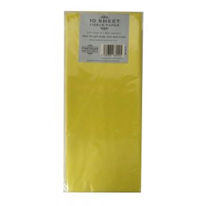 Partisan Tissue Paper Yellow