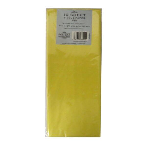 Partisan Tissue Paper Yellow
