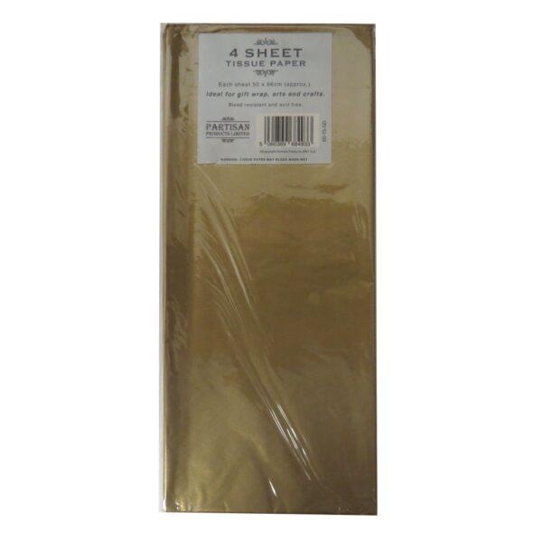 Partisan Tissue Paper Gold