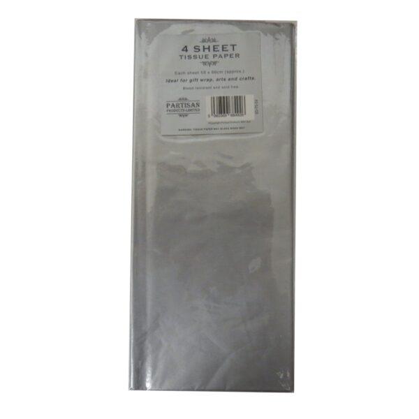 Partisan Tissue Paper Silver