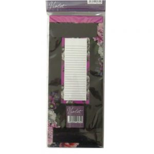 Magnetic Shopping List Beautiful Blooms Front 3