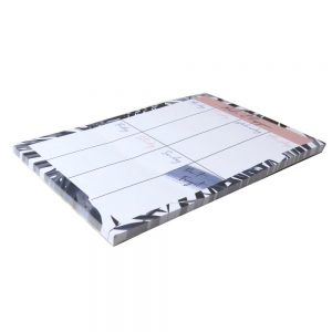 Magnetic Weekly Planner Indigo Front 3