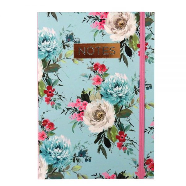 A5 Notebook Vintage Floral Front