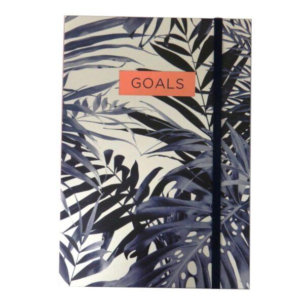 A5 Notebook Indigo Front
