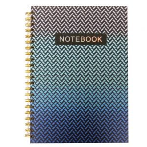 A4 Wirebound Notebook New Wave Front