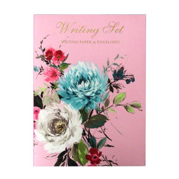Writing Set Vintage Floral Front