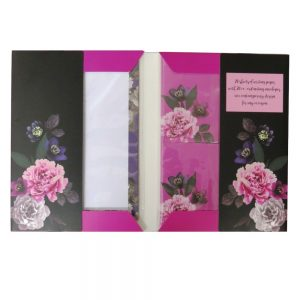 Writing Set Beautiful Blooms Front 3