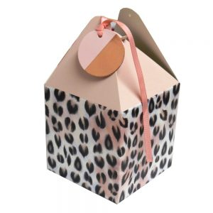 Flat Pack Gift Boxes Indigo Front 2