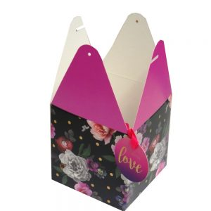 Flat Pack Gift Boxes Beautiful Blooms Front