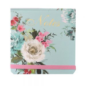 Mini Jotter Notebook Vintage Floral Front