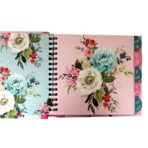 Address Book Vintage Floral Front 3
