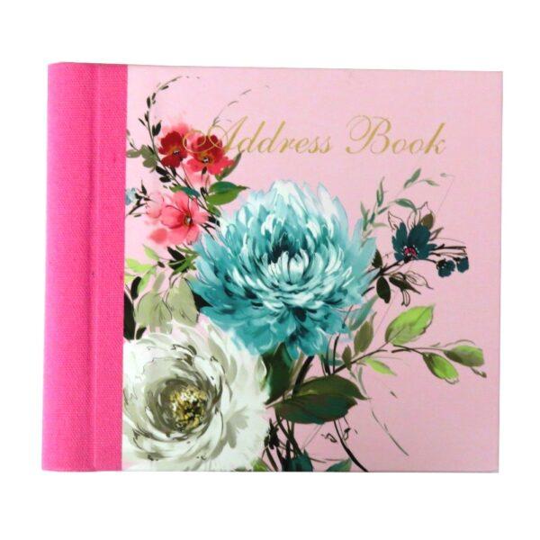 Address Book Vintage Floral Front