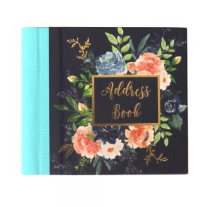 Address Book Midnight Blues Front