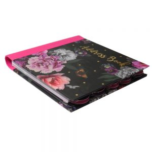 Address Book Beautiful Blooms Front 2