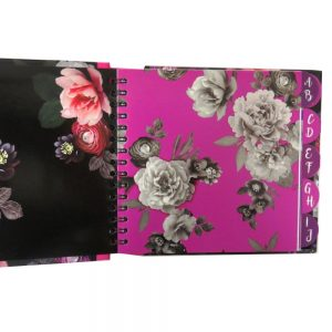 Address Book Beautiful Blooms Front 3