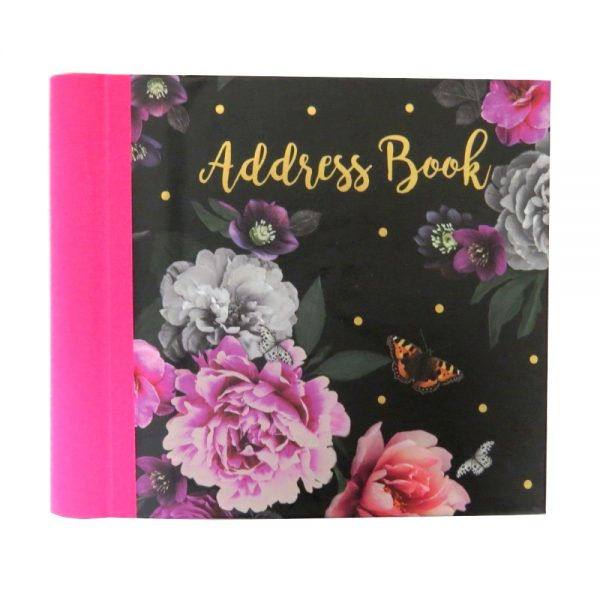 Address Book Beautiful Blooms Front