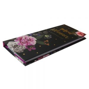 Meal Planner and Shopping List Beautiful Blooms Front 2