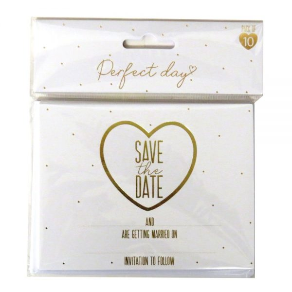 Wedding Day Save the Date Invites Front