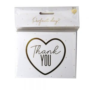 Wedding Day Thank You Cards Front