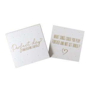 Wedding Day Conversation Starter Cards Front 3