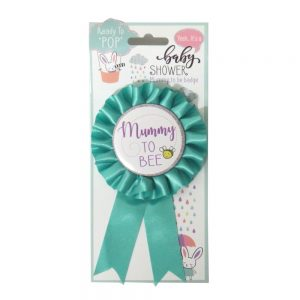 Mummy To Bee, Large Baby Shower Rosette Badge