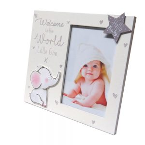 Baby Photo Frame Welcome to the World Little One Front 2