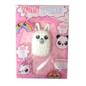 A5 Squishywhishy Notebook Llama Front
