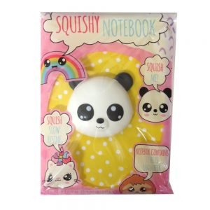 A5 Squishywhishy Notebook Panda Front