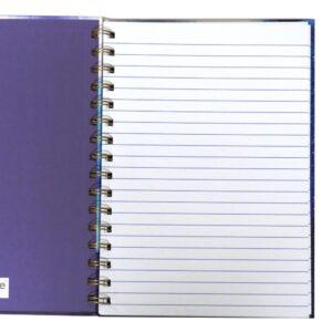 A5 Opulent Geo Wirebound Notebook Front 3