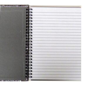 A5 Glitter Glamour Wirebound Notebook Front 3
