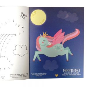Unicorn Sticker and Activity Book Front 2