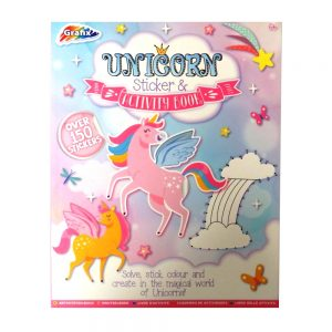 Unicorn Sticker and Activity Book Front
