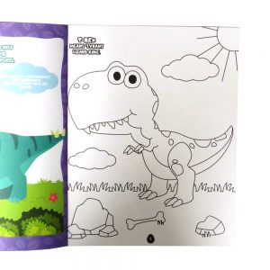 Dinosaur Sticker and Activity Book Front 3