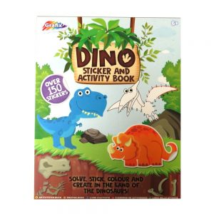 Dinosaur Sticker and Activity Book Front