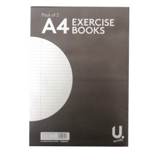 Exercise Books Pack of 3 Front