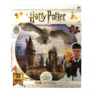 Harry Potter Jigsaw Puzzle Hogwarts and Hedwig Front