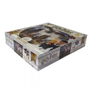 Harry Potter Jigsaw Puzzle Hogwarts and Hedwig Front 2