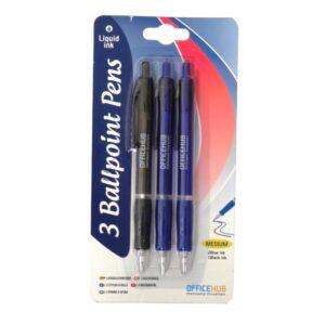 Ballpoint Pens Pack of 3