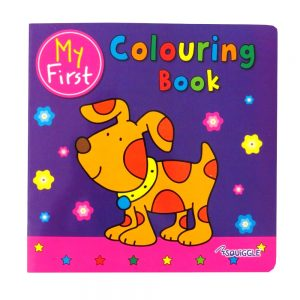 Squiggle My 1st Copy Colouring Book Puppy Cover