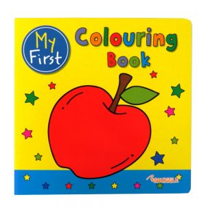 Squiggle My 1st Copy Colouring Book Apple Cover