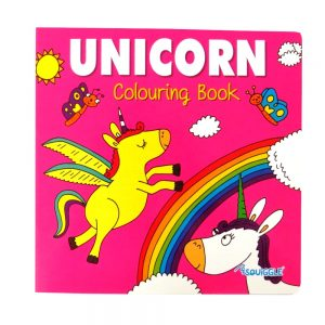 SQUIGGLE UNICORN COLOURING BOOK