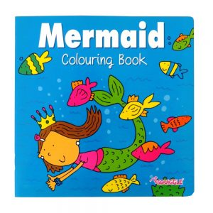 SQUIGGLE MERMAID COLOURING BOOK - P2851 - Front