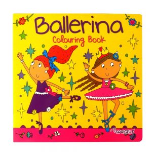 SQUIGGLE BALLERINA COLOURING BOOK - P2851 - Front