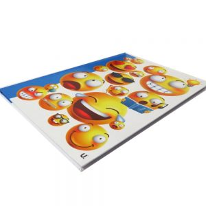 A4 EMOJI HARDBACKED NOTEBOOK EXPRESSIONS Front 2