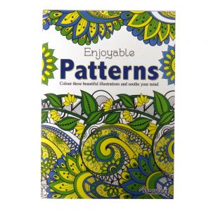 ADVANCED COLOURING BOOK PATTERNS P2906A