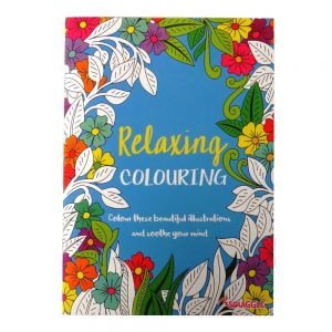 ADVANCED COLOURING BOOK - RELAXING - P2192A - Front