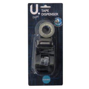 DESKTOP TAPE DISPENSER WITH 2 ROLLS - 18MM REELS - P2435 - Front