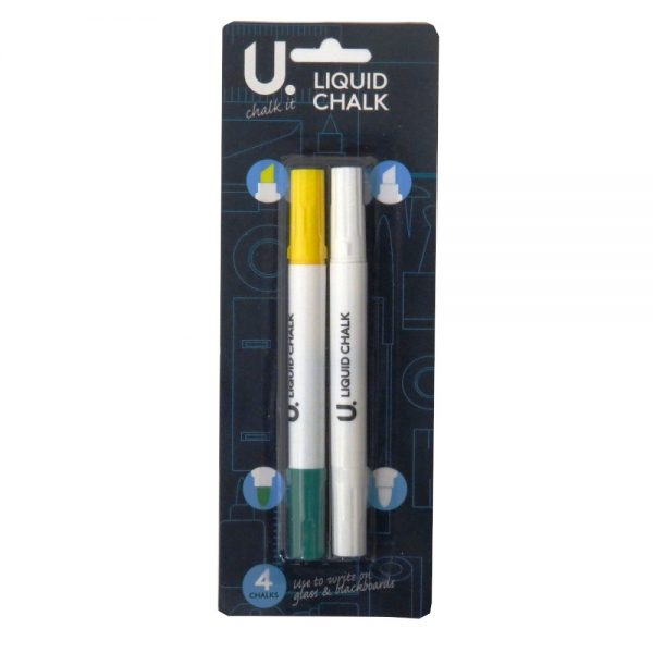 LIQUID CHALK - PACK OF 3 COLOURS